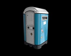 Street Toilet - Gest 3D asset