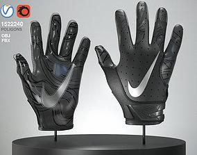equipment 3D model American Football Gloves