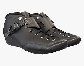 3D model Roller skate boots racing