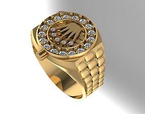 Ring Rolex 3D printable model