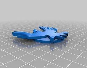 3D printable model Infamous Eagle Symbol