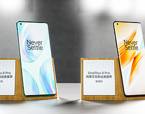 3D model OnePlus 8Pro cell phone
