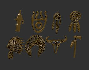 indian icon pack 3D print model