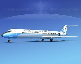 Douglas VC-9C US Government 3D