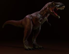 3D model Medium poly T-rex
