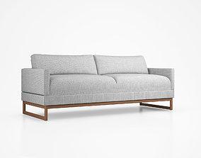 3D Diplomat Sleeper Sofa by Blu Dot