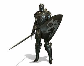 3D asset Cavalry Armor