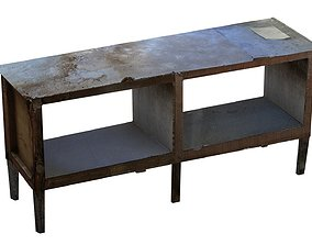 3D model Old Commode 01 01