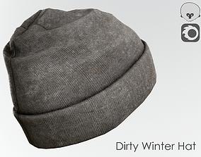 3D asset Dirty Winter Hat