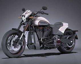 3D Harley Davidson Softail FXDR 2019