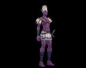 3D model Like the warrior of Avatar