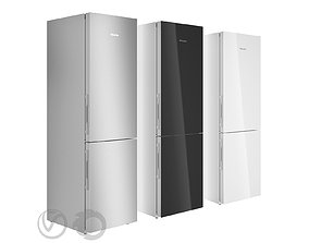 Freestanding fridge freezer KFN29683D by MIELE