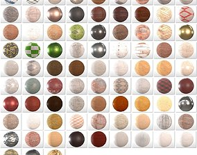 84 Seamless 4K PBR Materials Collection for archviz 3D