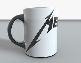 3D asset Metallica Mug