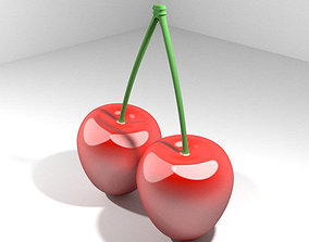 3D Mediterranean Fruit - Cherry