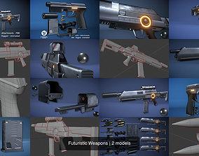 3D Futuristic Weapons