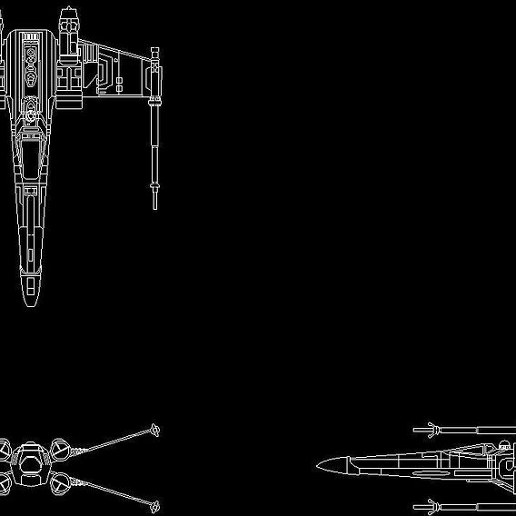 Star Wars X-Wing Starfigher