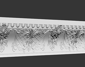 Classic border for wall 3D model