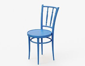 3D model Old Painted Chair
