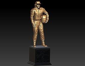 3D printable model Ayrton Senna Statuette