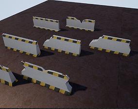 3D model Barricade barrier
