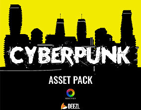 Cyberpunk - Asset Pack - Unreal Engine UE4 3D model