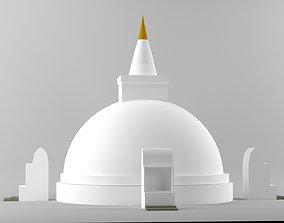 Pagoda 3D Modal game-ready