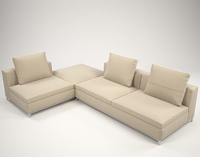 Fest corner sofa 3D