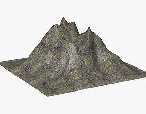 Mountain Landscape 3D asset