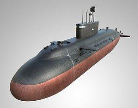 3D model Submarine Shivalik