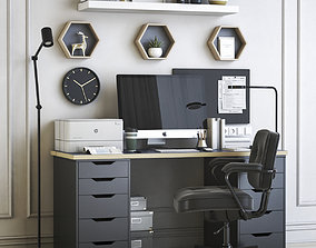 Office workplace 42 3D
