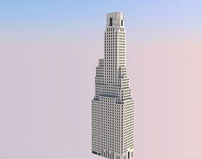 3D printable model One Wall Street