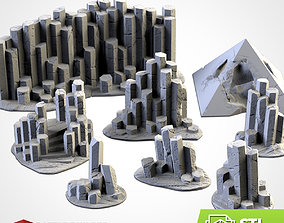 BASALTIC TERRAIN 3D print model