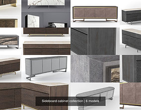Sideboard cabinet collection 3D