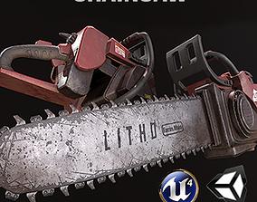 Chainsaw 3D model VR / AR ready