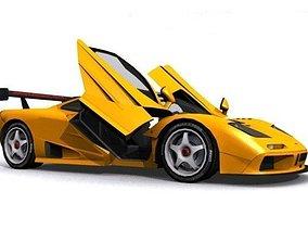 3D model McLaren F1 GT-R