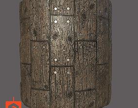 Aged Wood 3D
