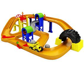3D asset Toy Race Track