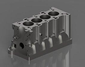3D model SR20DET Cast Iron Block