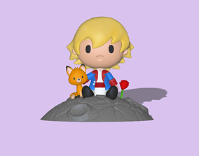 3D printable model The Little Prince