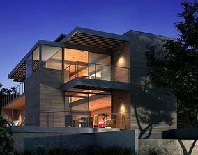 Modern Two Floor House 3D