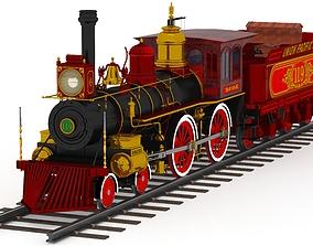 3D Union Pacific No 119