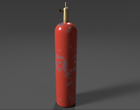 3D model Gas Canister PBR