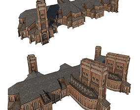 3D model Church 02