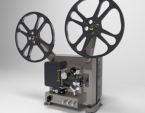 3D model models Film Projector