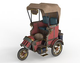 Steam Punk Taxi 3D model