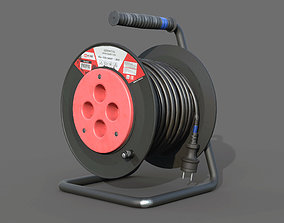 3D asset Open Cable Reel - Extension Cord