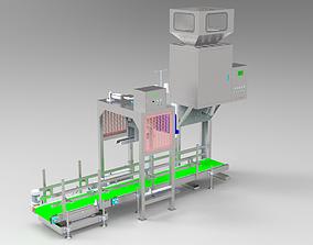 3d design model of sorting and quantitative packaging 1