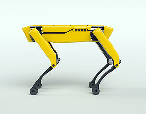 boston dynamics spot mini 3D model
