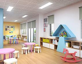 Kids classroom 3D